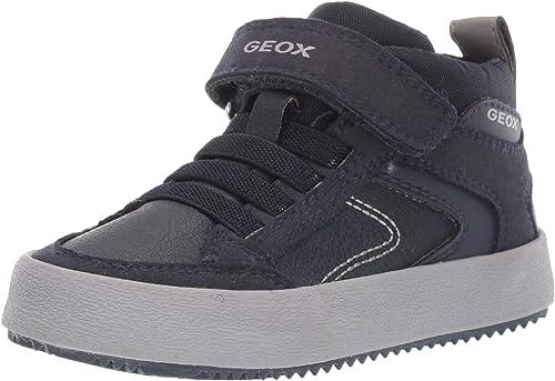 Geox J Alonisso Boy N, Zapatillas Altas para Niños