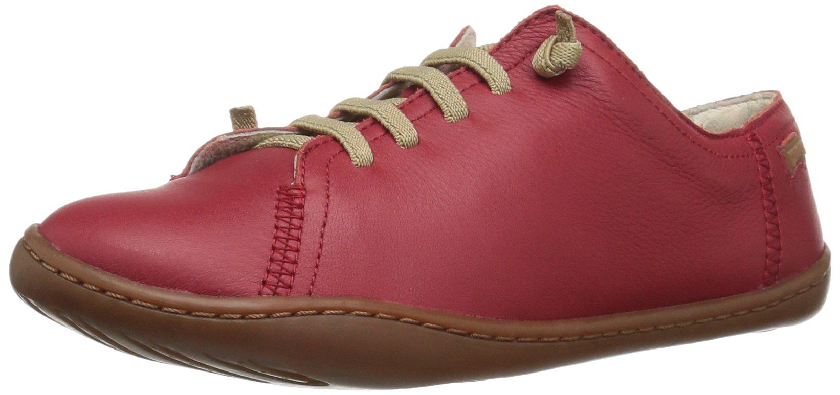 Camper Kids Unisex-Kids Peu Cami 80003 Sneaker, Red, 38 M EU Big Kid (7 US) by Camper