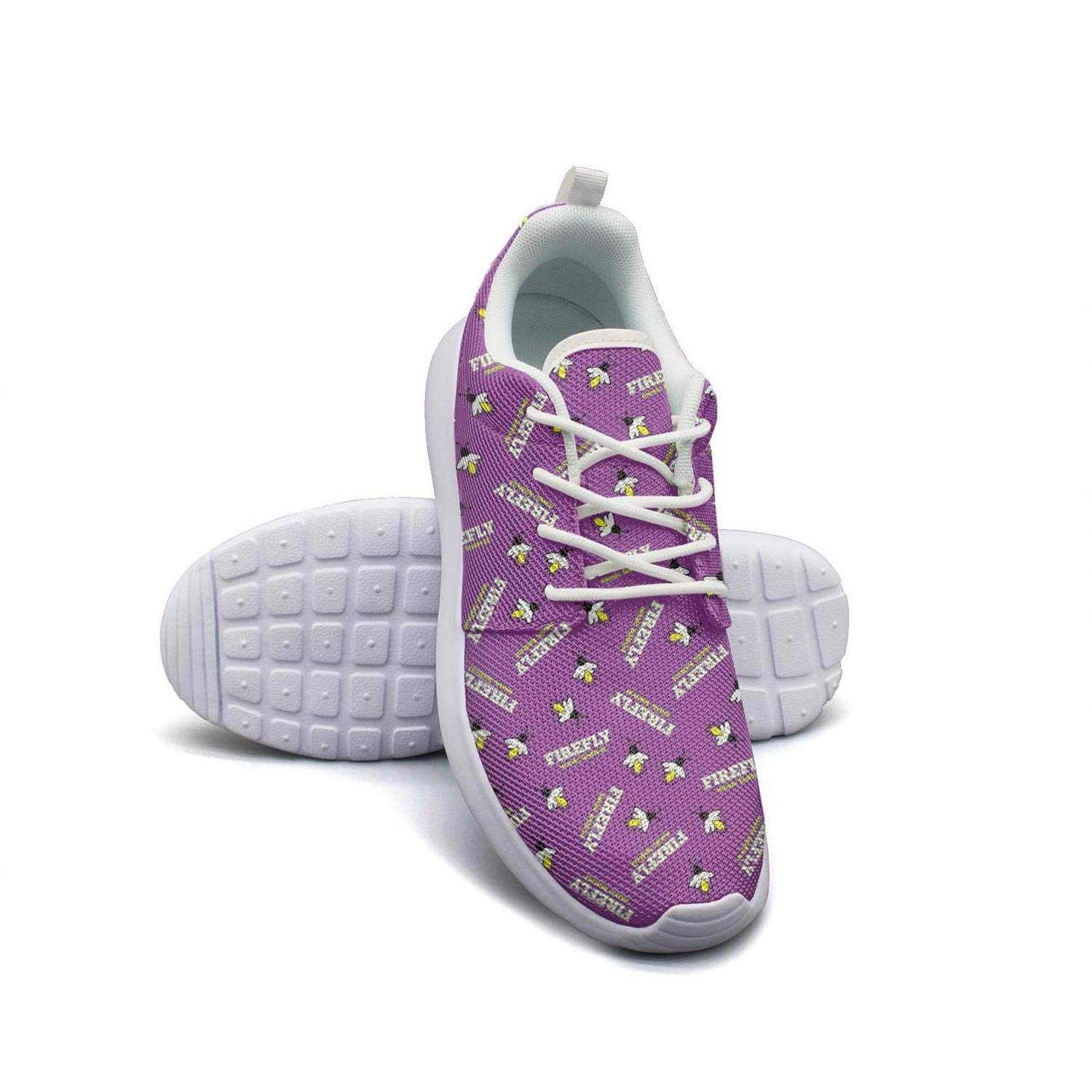 Happy Firefly Music Festival Purple Lady Skateboard Casual Shoes Care sportsshoes