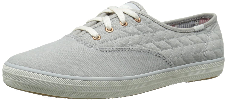 Amazon.com | Keds Women's Champion Quilt Jersey Fashion Sneaker, Gray, 11 M  US | Fashion Sneakers