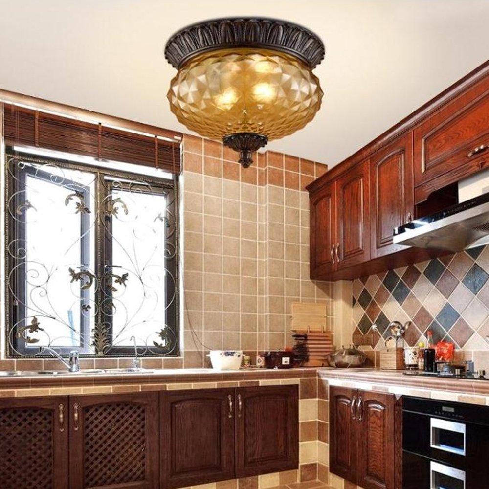 OOFAY LIGHT Ananas Lampe Retro Vintage Deckenleuchte Runde Design ...