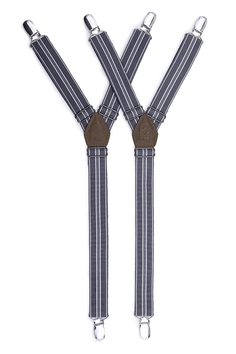 Dapper Y Shaped Shirt Stays - Shirt Suspenders With Adjustable Straps – 1 Pair