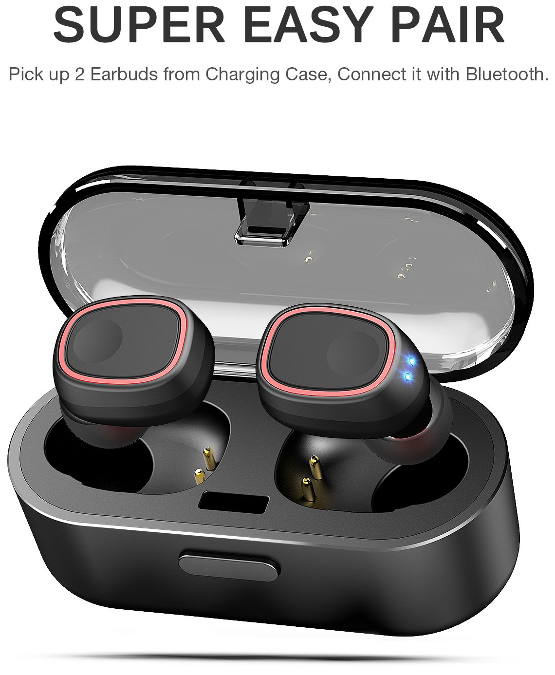 TOZO-T8-True-Wireless-Stereo-Headphones-TWS-Bluetooth-in-Ear-Earbuds-with-Charging-Case-Built-in-Mic-Headset-Premium-Sound-with-Bass-for-Running-Sport-Super-Easy-Pair