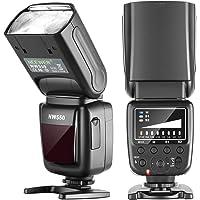 Neewer NW550 Kamerablixt Speedlite, kompatibel med Canon Nikon Panasonic Olympus Pentax, Sony med Mi Hot Shoe och andra…