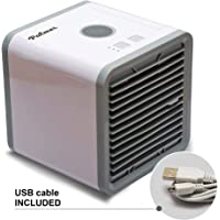 PALMER Air Conditioner | Portable Mini Personal Space Air Conditioner | Personal Mini Air Cooler | 3 in 1 USB Portable Mini Air Conditioner | Humidifier & Air Cooler for Room, Office, Outdoor