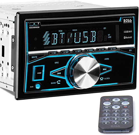 NEW In Dash Stereo Deck.Play Mp3s.USB Drive.Custom Sound System.Auto Amplifier