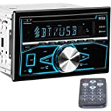 BOSS Audio 850BRGB Double Din, Bluetooth, CD/MP3/USB/SD AM/FM Car Stereo, Wireless Remote, Multi Color Illumination