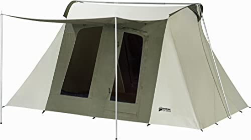 This photo shows the Kodiak Canvas Flex-Bow Deluxe 8-Person Tent.