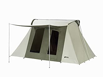 This camping tent photo shows the Kodiak Canvas Flex-Bow 8-person Tent.