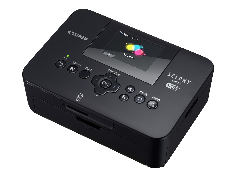Canon Selphy CP910 8426B001 Wireless Compact Photo Printer (Black) Canon USA Inc.