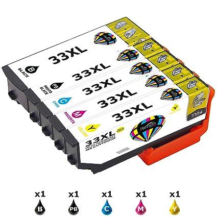Cartuchos de tinta de recambio de Pintech; compatibles con Epson ...