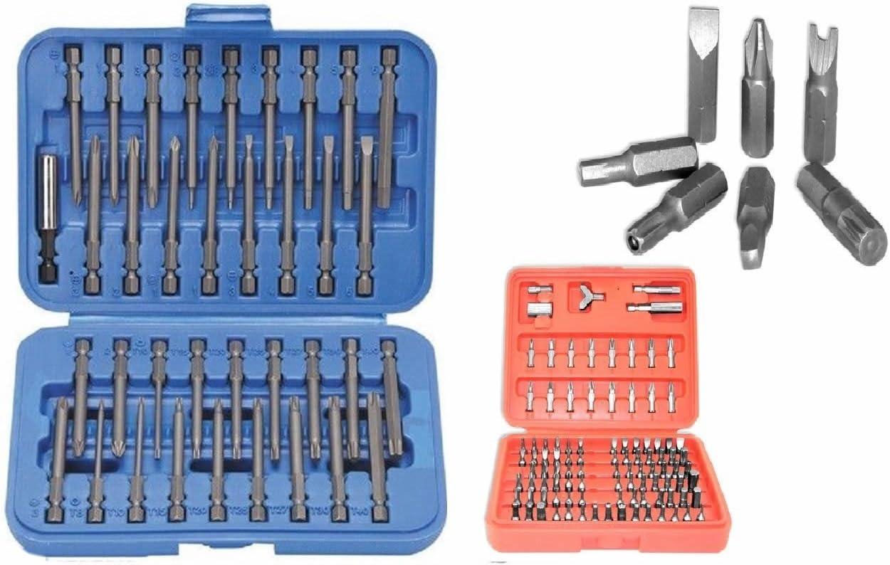 8x Torque Torx Standard Screwdriver Bits T8 T10 T15 T20 T25  T30 T40 T45