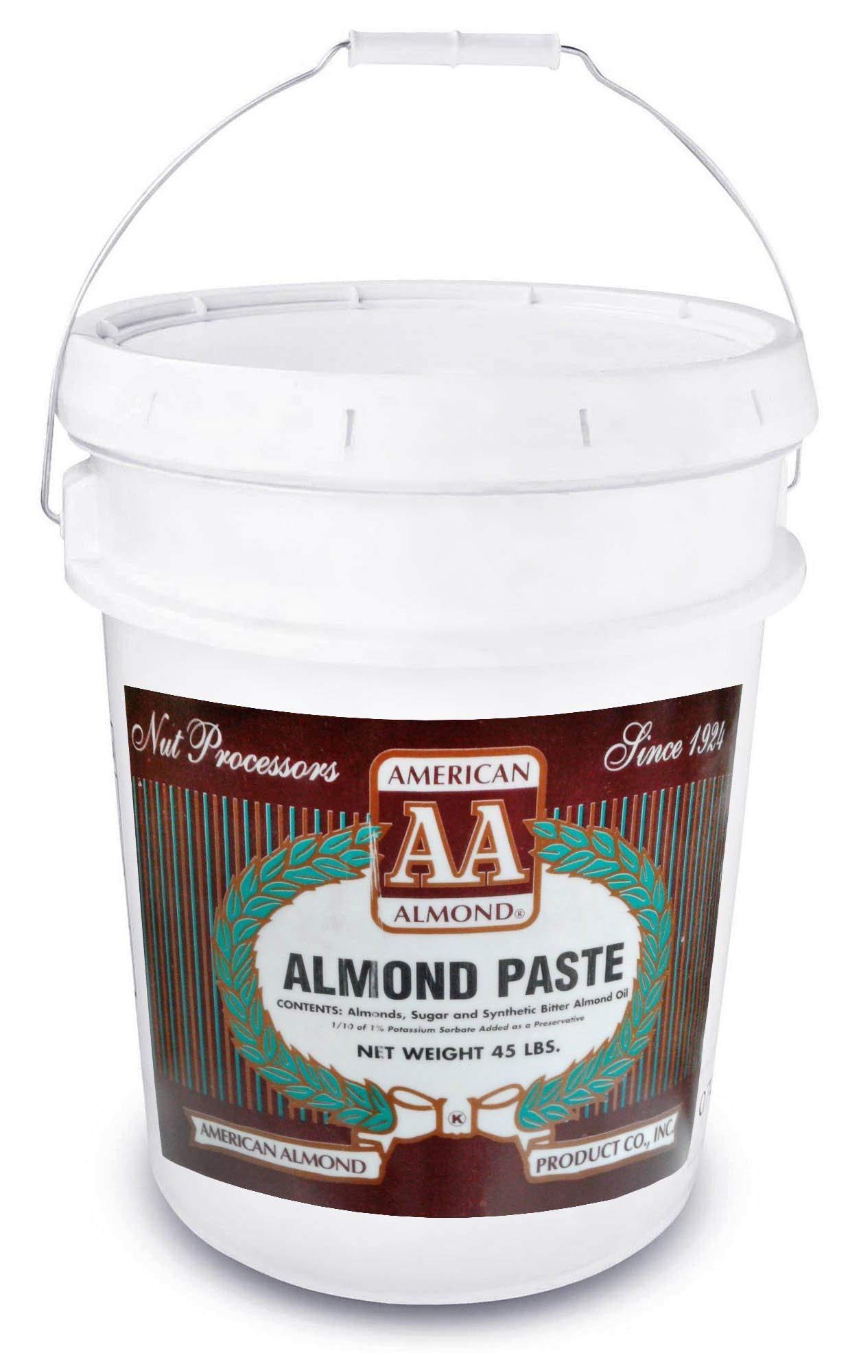 American Almond Almond Paste - 45 lb Tub by American Almond (Image #1)
