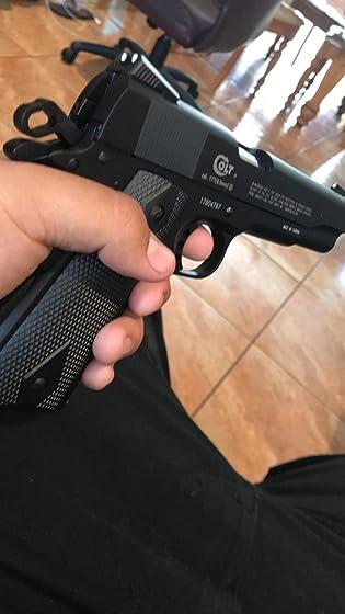 Colt Commander .177 Caliber  Steel BB Air Gun Pistol good gun only wish it had a little bit more