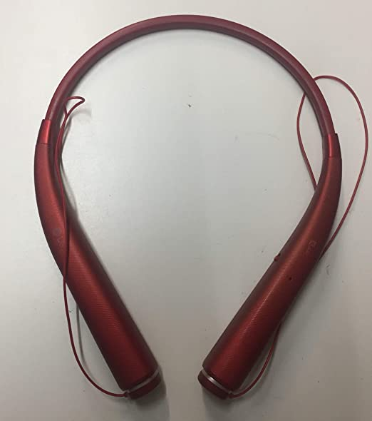 Amazon Com Lg Tone Pro Hbs 780 Wireless Stereo Headset Red