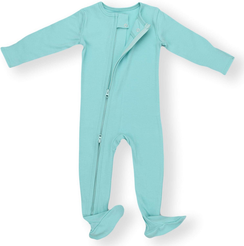 Earthy Organic Baby Pajamas 2-Way Zipper Sleeper Boy Girl 9 Sizes: Preemie - 3T 100/% Organic Cotton