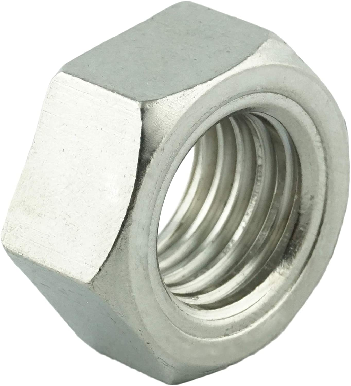 ISO 4032 M24 Sechskantmuttern Edelstahl A2 V2A Eisenwaren2000 - Standard Sechskant-Mutter DIN 934 10 St/ück rostfrei
