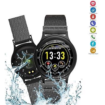 SSeir Inteligente Relojes Bluetooth Reloj Inteligente Impermeable Aptitud Actividad Rastreador con Corazón Tarifa Monitor Compatible con iPhones Androide ...