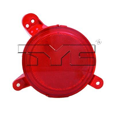 TYC 17-5486-00 Kia Soul Left Replacement Reflex Reflector: Automotive