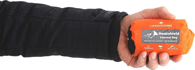 Lifesystems Unisexe /'heatshield Couverture-double orange taille unique