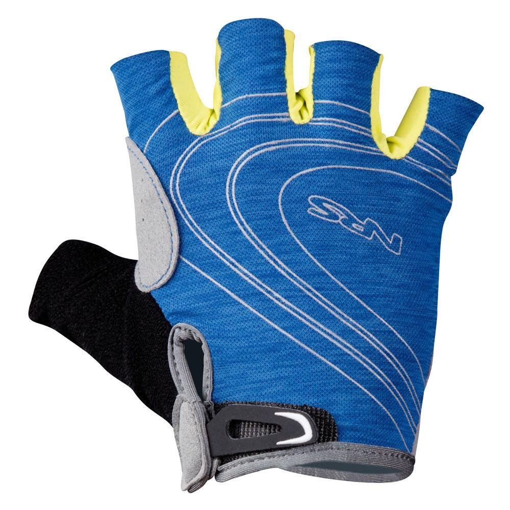 NRS Men's Axiom Half-Finger Gloves-NautBlue-S