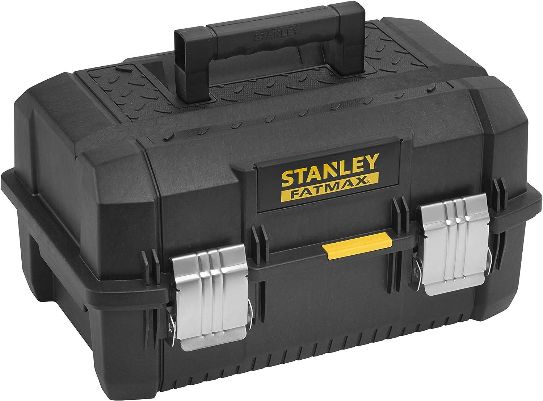 """12/"""" Boîte à outils avec poignée À faire soi-même stockage en plastique Boîte à outils verrouillables étui rangement"""