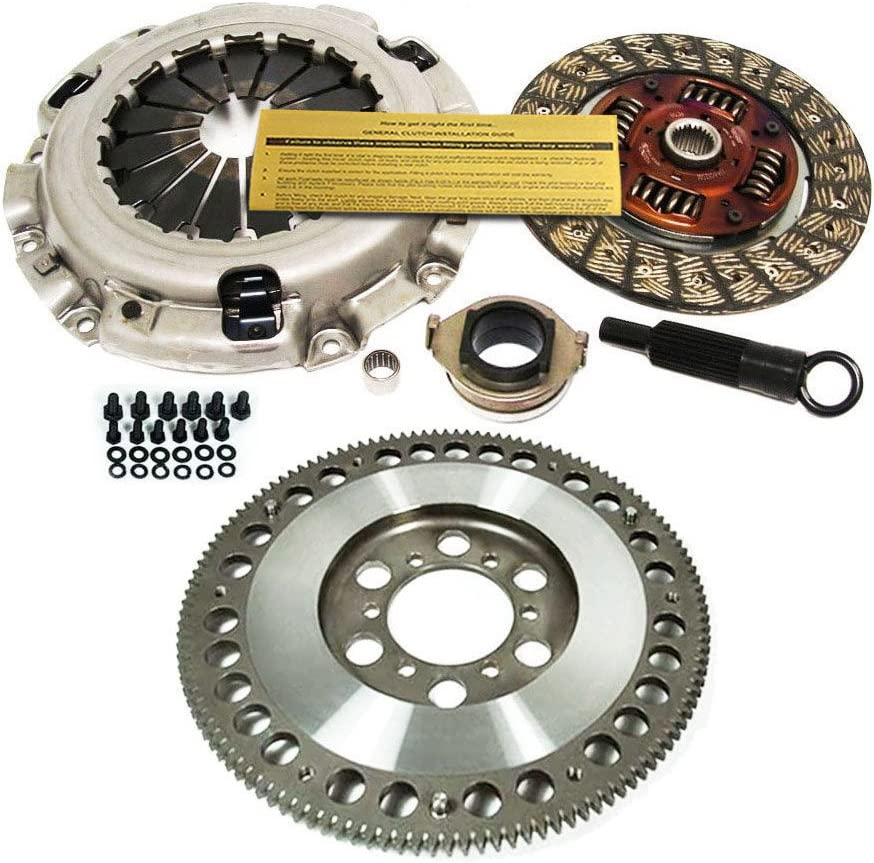 EXEDY CLUTCH KIT+4140 CHROMOLY FLYWHEEL WORKS WITH 2004-2011 MAZDA RX8 RX-8 1.3L 13BMSP
