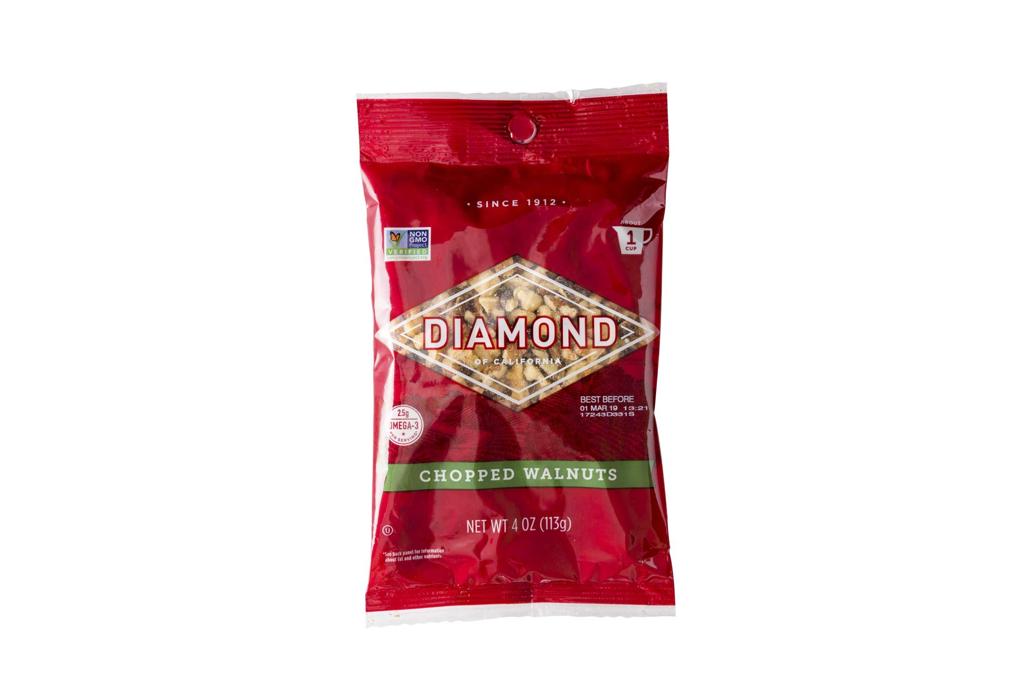 Diamond of California, Chopped Walnuts, 4 Ounce