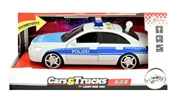 With Pullback 24049a Toi Police Siren Model Car Motor Toys And mNnOvy80w