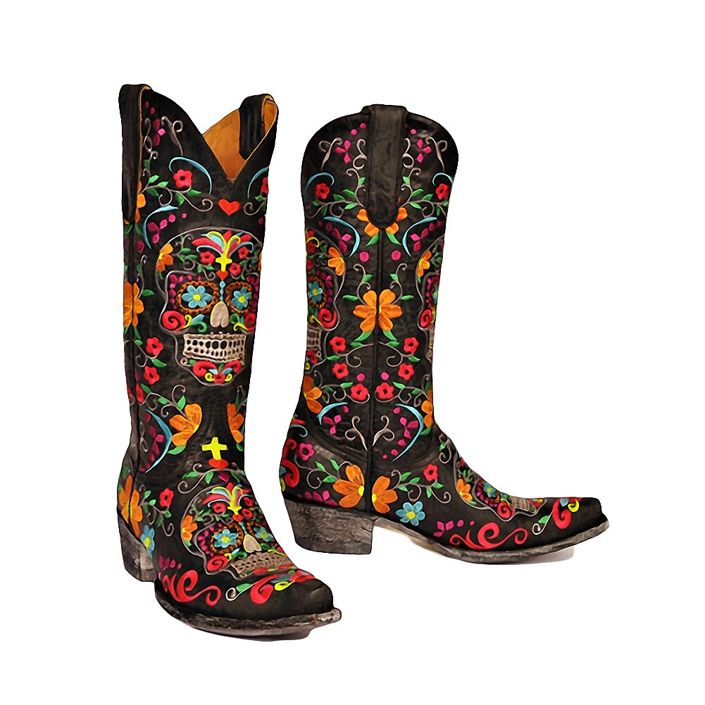Old Gringo Women's Klak Black Western Boots B00KNE04P4 6.5 B(M) US|Black