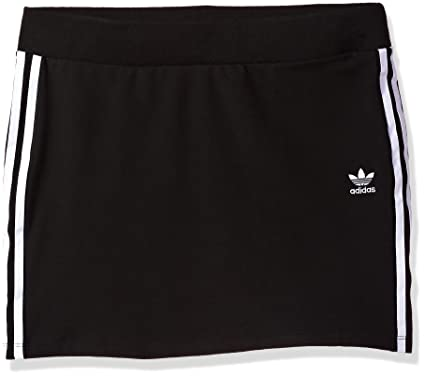 info for 05d3f d4b5c adidas Originals Women s Bottoms 3 Stripes Skirt, Black, Medium at Amazon  Women s Clothing store