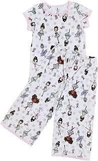 product image for Esme Junior Short Sleeve Lounge Pant Pajama Set Size S/18 M/20 L