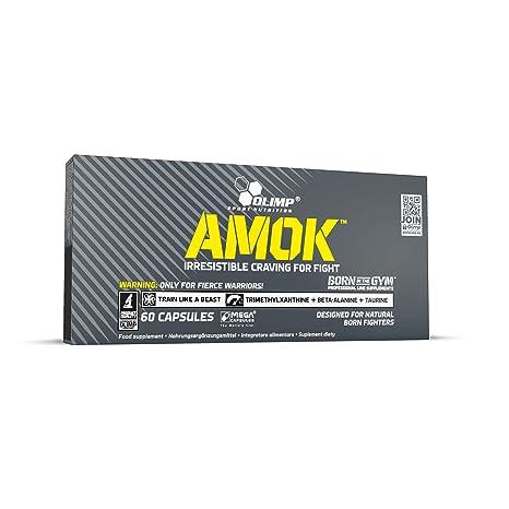 Olimp Sport Nutrition Amok Aminoácidos - 60 Cápsulas: Amazon.es: Salud y cuidado personal