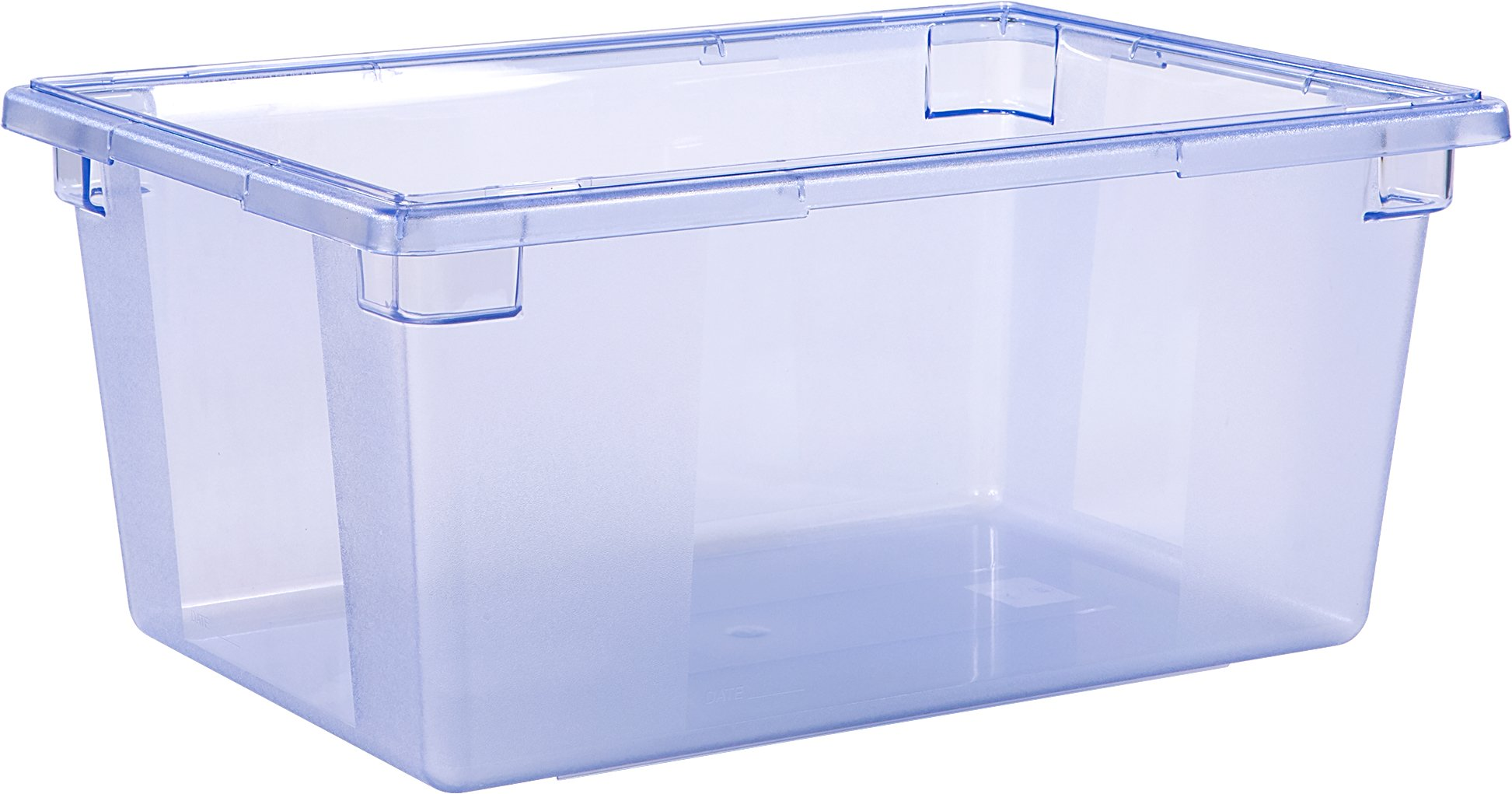 Carlisle 10623C14 StorPlus Color-Coded Food Storage Container Only, 16.6 Gallon, Blue (Pack of 3)