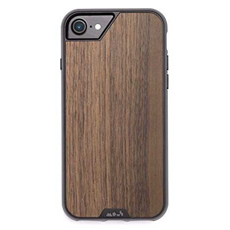 pretty nice d2ee0 dffb3 Mous Protective iPhone 8/7/6s/6 Case - Real Walnut Wood - Limitless 2.0 -  Screen Protector Inc.