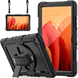 Samsung Galaxy Tab A7 Case 2020 SM-T500/T505/T507 with Screen Protector for Kids   Blosomeet Full Body Shockproof Cover for 1