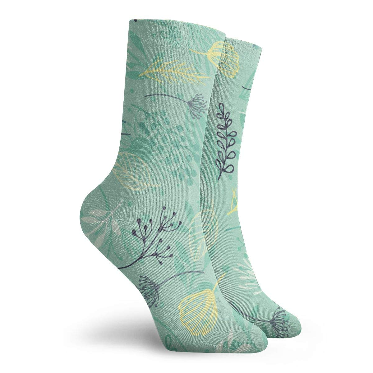 Forest Unisex Funny Casual Crew Socks Athletic Socks For Boys Girls Kids Teenagers