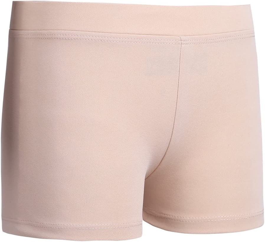 Yeahdor M/ädchen Sport Tanz Shorts Turnhose Tights Low Rise Kurze Hose Fitness Yoga Shorts Sportbekleidung