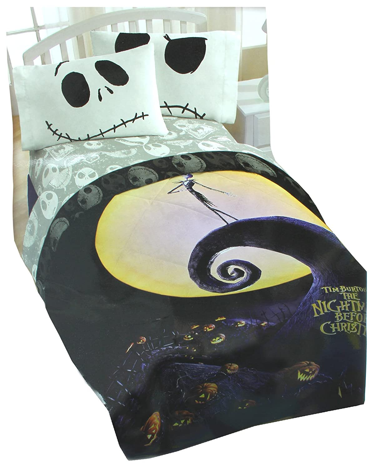 Amazon.com: Disney The Nightmare Before Christmas Poster Full/Queen ...