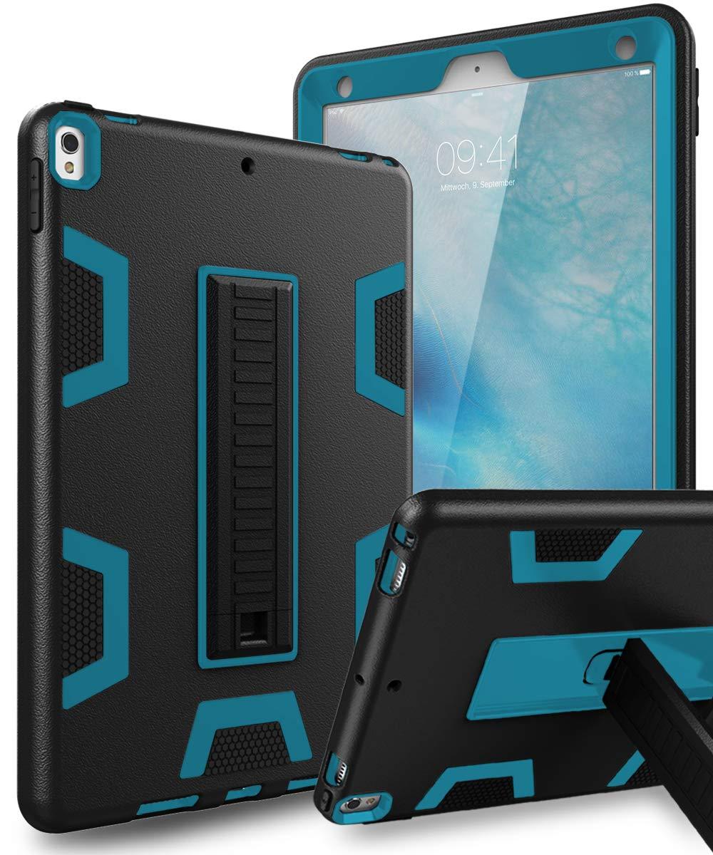 トミカチョウ TOPSKY iPad Pro Pro 10.5 ケース iPad iPad Pro 2017 ケース 2017 iPad A1701/A1709 ケース 高耐久 頑丈 耐衝撃 子供用 耐衝撃 耐衝撃性 ハイブリッド 頑丈 保護カバー ケース iPad Pro 10.5 2017 ブラック FLL-IP-PRO10.5-C2K-BKBU ブラックブルー B07J9PS682, UMライフサポート:ce3c4cf0 --- a0267596.xsph.ru