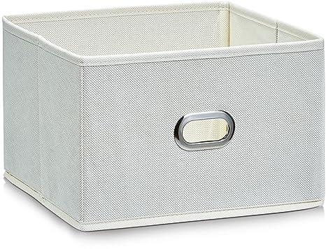 Zeller 14401 - Caja de almacenaje de tela, plegable, 24 x 23 x 16