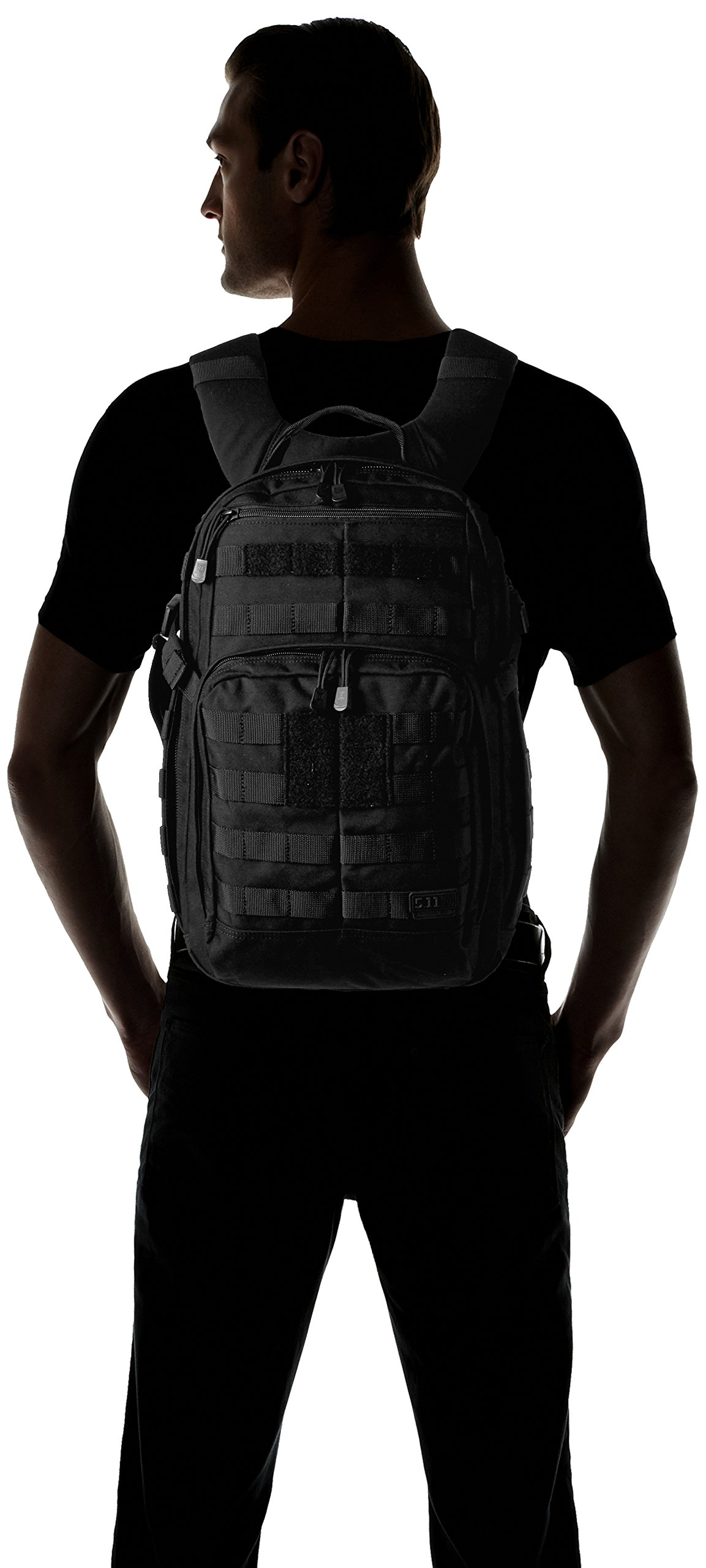 5.11 RUSH12 Tactical Military Assault Molle Backpack, Bug Out Rucksack Bag, Small, Style 56892, Black by 5.11 (Image #10)