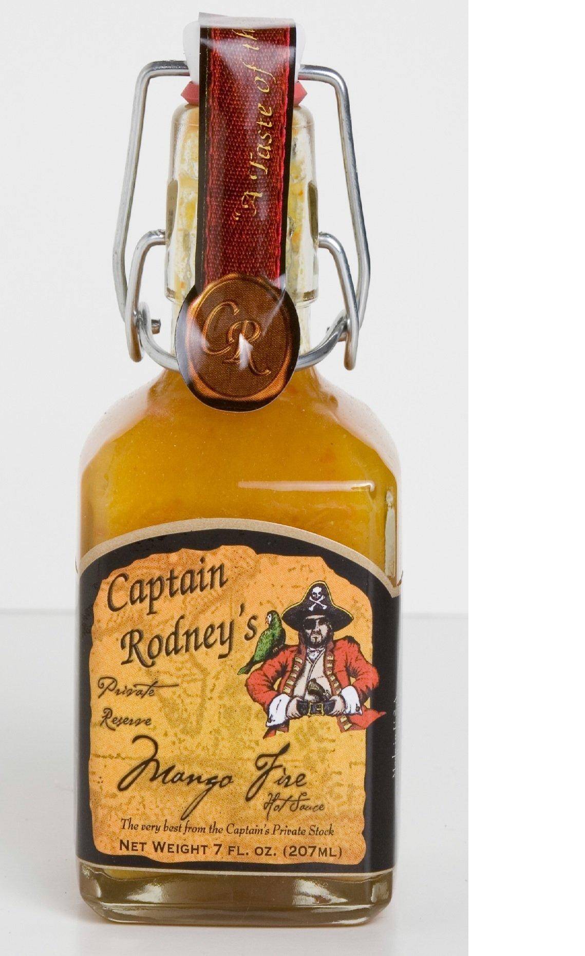 Captain Rodney's Private Reserve Mango Hot Fire Sauce 7.0 OZ