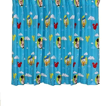 Amazon.de: Disney Mickey Mouse 2St. Fertig Gardinen ...