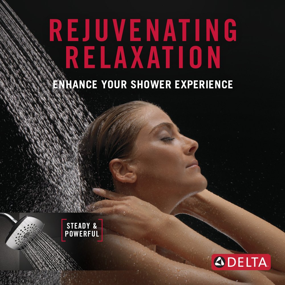 Delta RP64859 Ashlyn Shower Head, Chrome - - Amazon.com