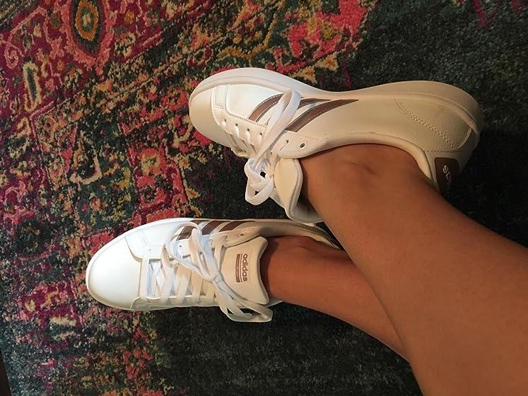 adidas Women's Cloudfoam Advantage Cl Sneaker Cute