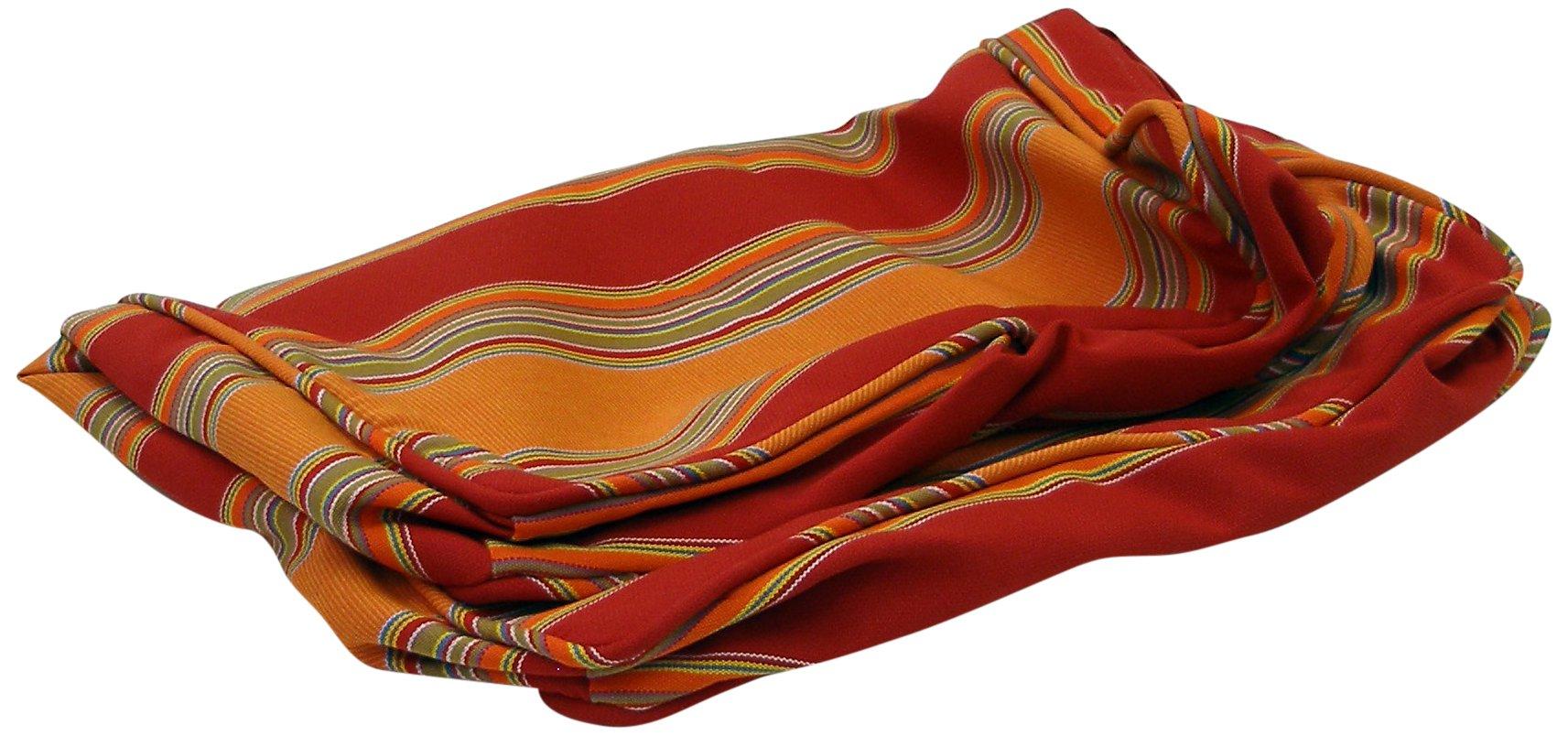 ATC Sunbrella Fabric Cushion Cover for Tatta Ottoman, Bravada Salsa