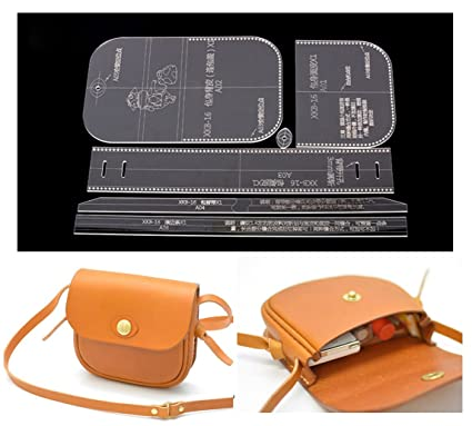 Leather Templates | Amazon Com Nw Shoulder Bag Acrylic Template Leather Pattern Acrylic