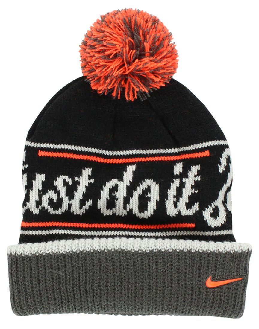 1ee80d3574e Nike JDI (Just Do It) Pom Beanie Hat  632116-010 by Nike  Amazon.co.uk   Sports   Outdoors