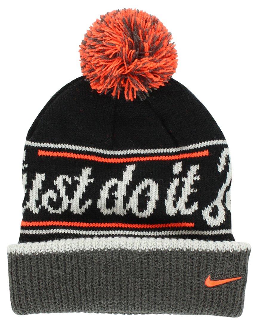 e5bacb54120 Nike JDI (Just Do It) Pom Beanie Hat  632116-010 by Nike  Amazon.co.uk   Sports   Outdoors